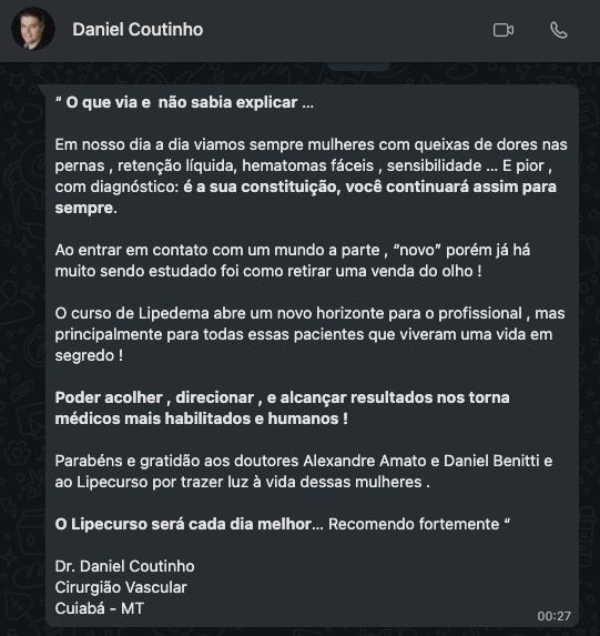 Dr. Daniel Coutinho